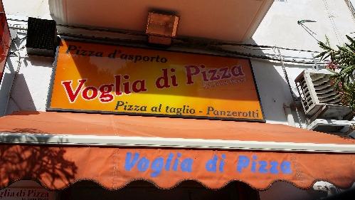 Voglia di Pizza Vieste Puglia Italy